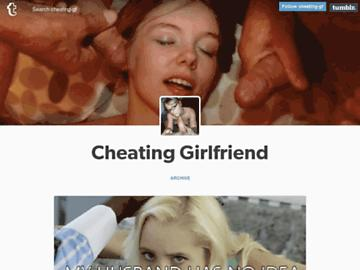 cheating girlfriend tumblr