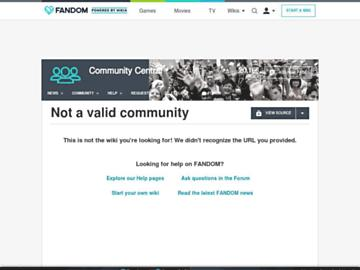 Community Central  FANDOM powered by Wikia